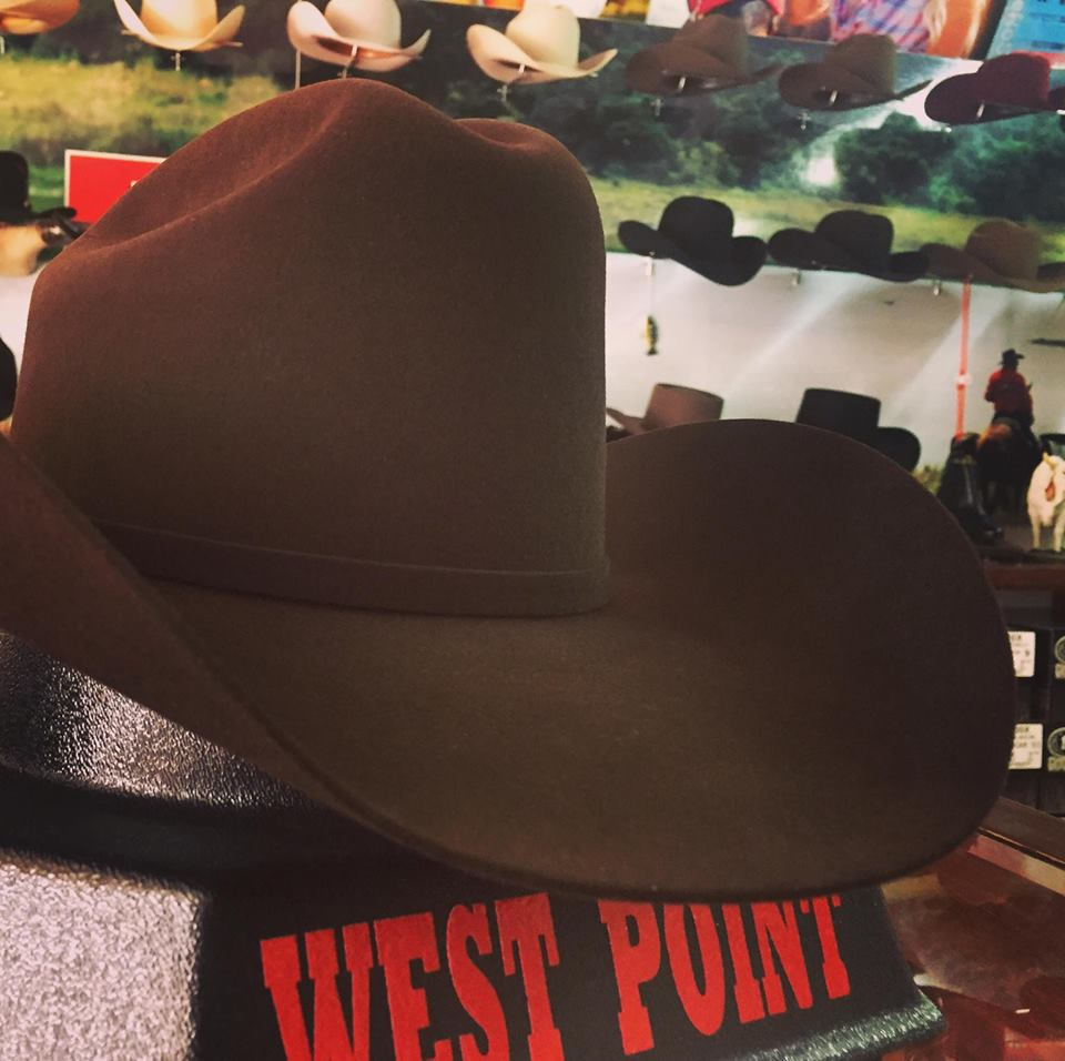 Texana WestPoint 5Ox color Chocolate estilo Marlboro. Badhombre only.  WestPointHats a3956860985