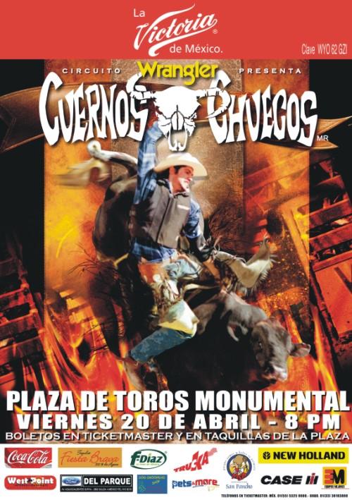Wrangler-Cuernos Chuecos en Monumental Plaza de Toros de la Feria de ...