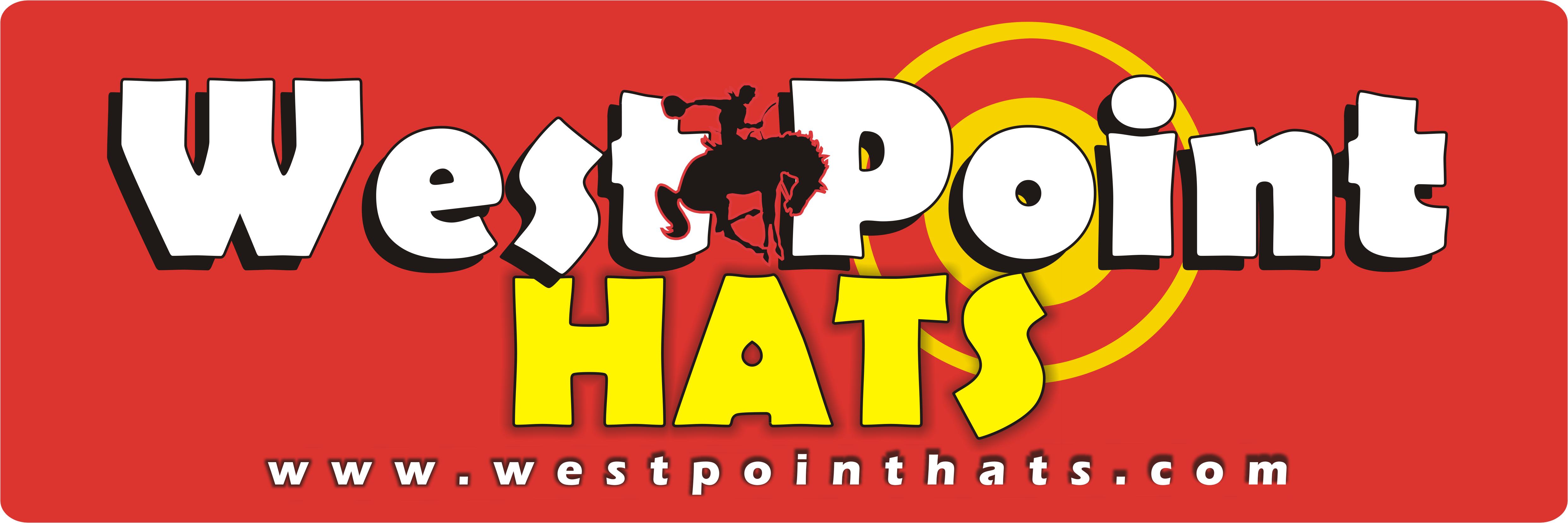 West Point International Hats... LOGOTIPO oficial... Sombreros ... b5c2acba064