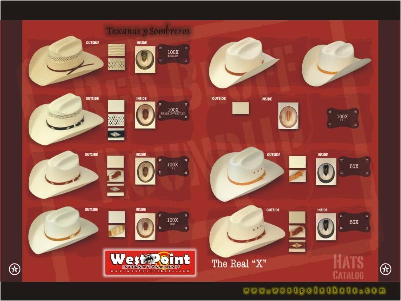 Westpoint Western Hats
